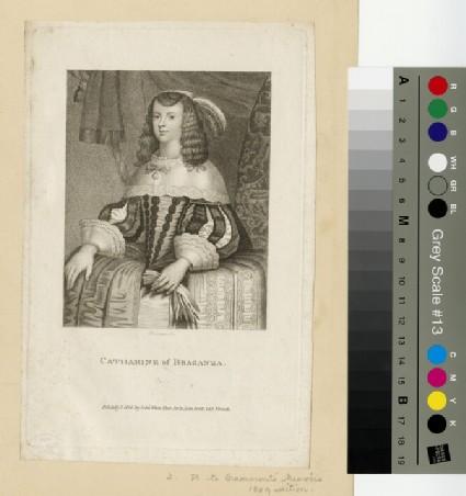 Portrait of Catharine of Braganza