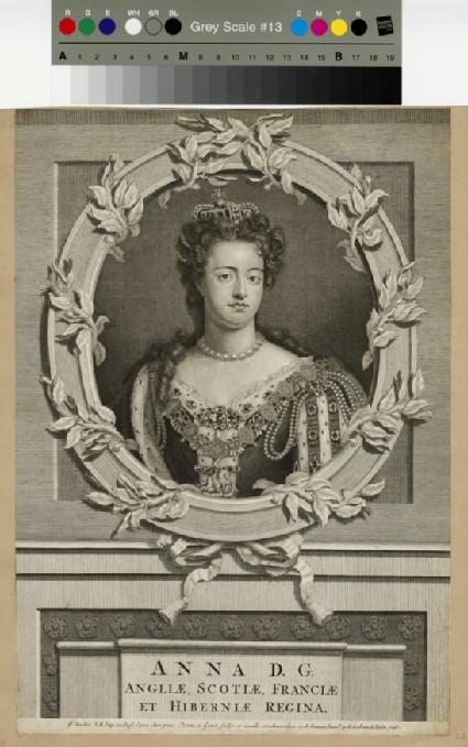 Portrait of Queen Anne