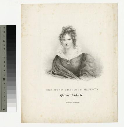 Portrait of Queen Adelaide