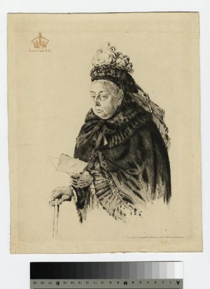 Portrait of Queen Victoria