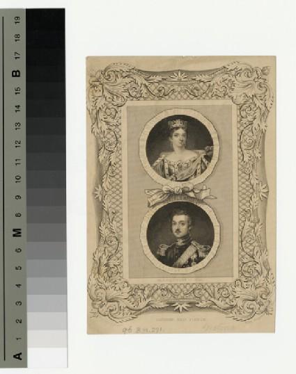 Portrait of Victoria and Albert