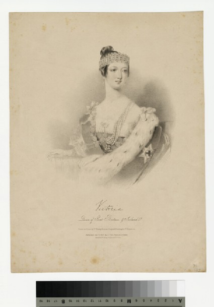 Portrait of Victoria, Queen of Great Britain and Ireland