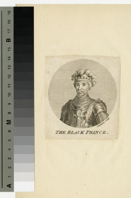 Portrait of Edward, the Black Prince
