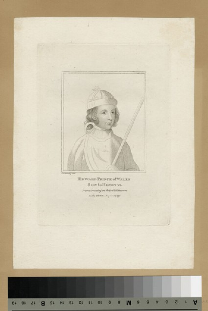 Portrait of Edward, Prince of Wales