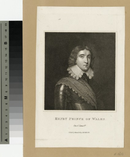 Portrait of Henry, Prince of Wales