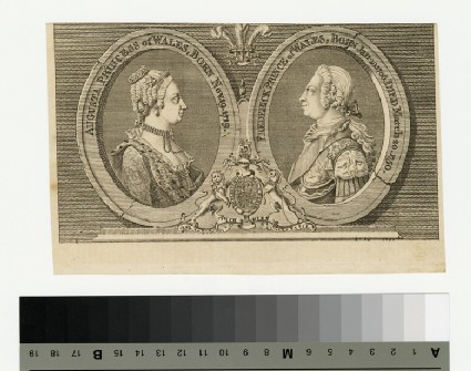 Portrait of Prince Frederick and Princess Augusta