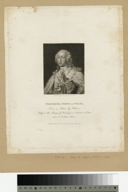 Portrait of Prince Frederick