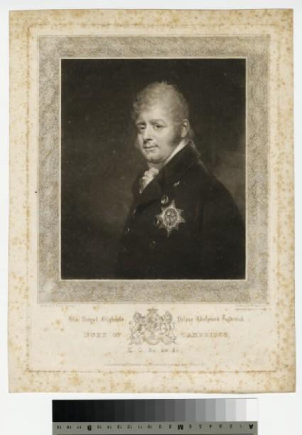 Portrait of Duke of Cambridge