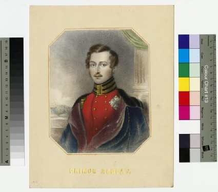 Portrait of Prince Albert