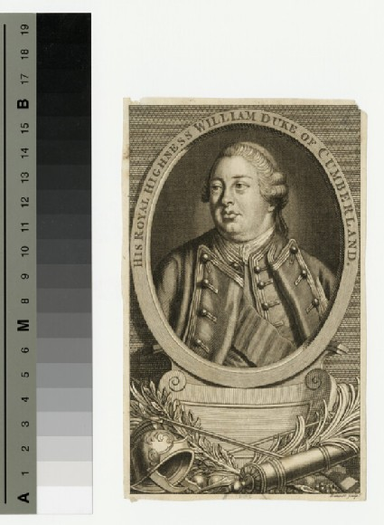 Portrait of William, Duke of Cumberland