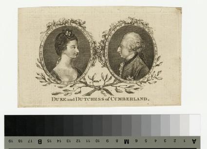 Portrait of Duke and Duchess Cumberland