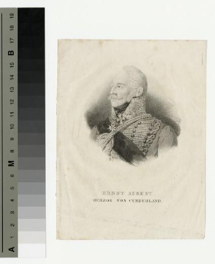 Portrait of Ernst August, Duke of Cumberland
