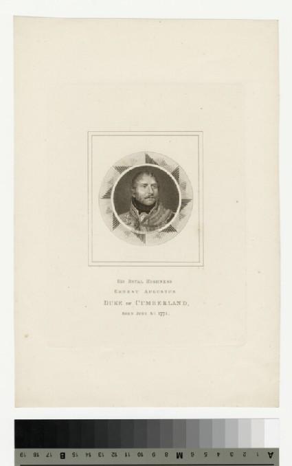 Portrait of Ernst Augustus, Duke of Cumberland
