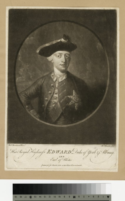 Portrait of Edward, Duke of York