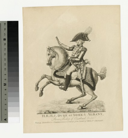Portrait of Prince Frederick, Duke of York and Albany