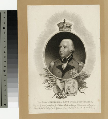 Portrait of Prince William Henry, Duke of Gloucester and Edinburgh