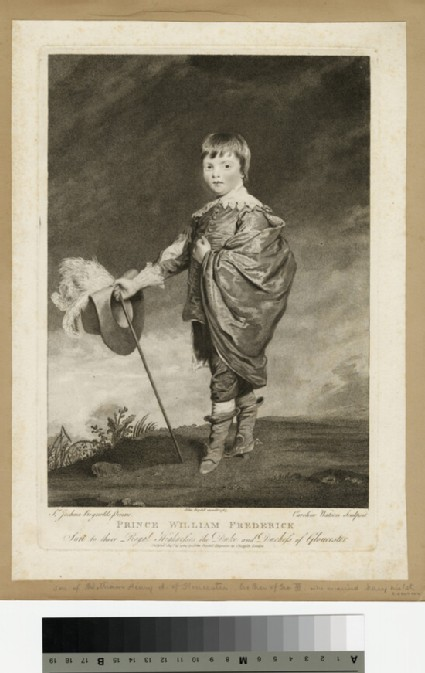 Portrait of Prince William Frederick, Duke of Gloucester and Edinburgh