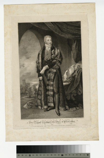Portrait of Prince William Frederick, Duke of Gloucester and Edinburgh