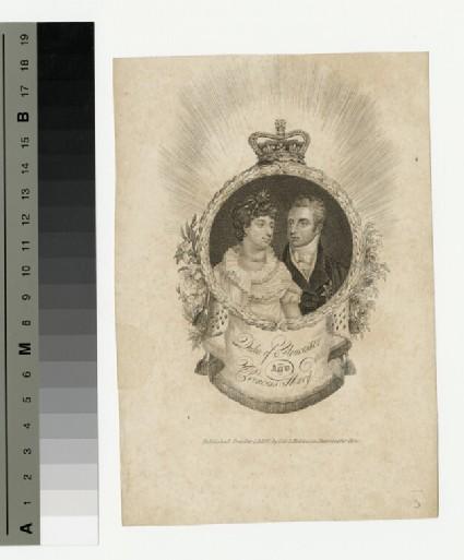 Portrait of Duke Gloucester and Princess Mary