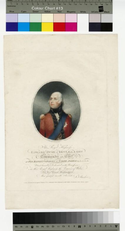 Portrait of Prince Edward, Duke of Kent and Strathearn