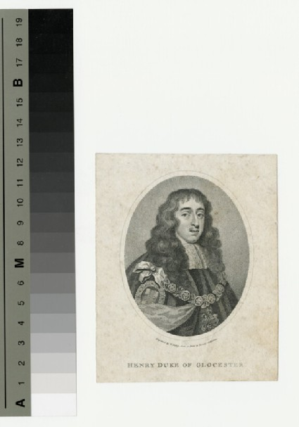 Portrait of Henry Stuart, Duke of Gloucester