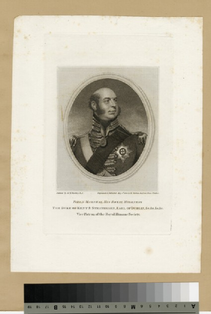 Portrait of Prince Edward, Duke of Kent and Strathearn