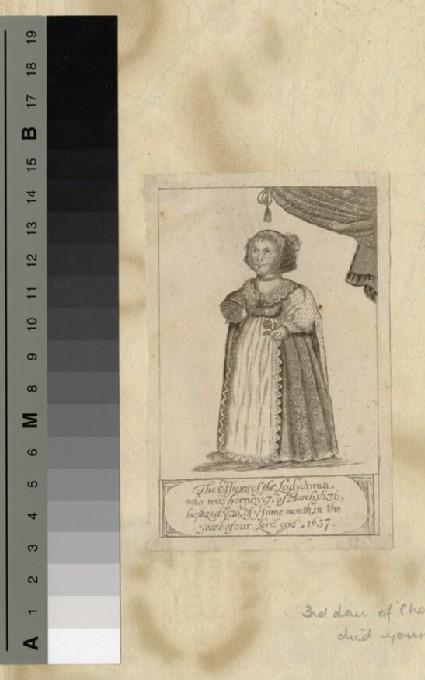 Portrait of Princess Anne Stuart