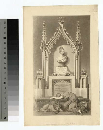 Funeral monument to Charlotte of Wales
