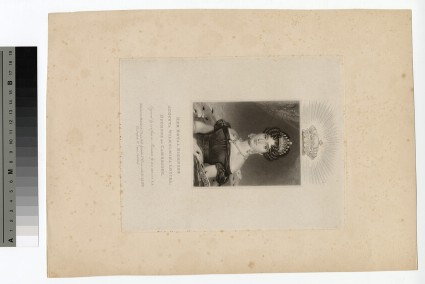 Portrait of Augusta Wilhelmina Louisa, Duchess of Cambridge