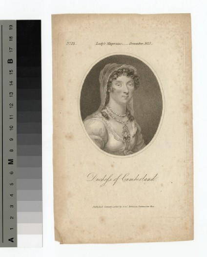 Portrait of Duchess Cumberland