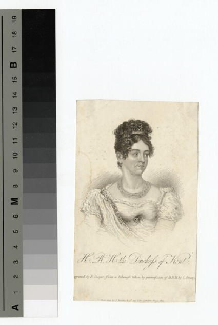 Portrait of the Duchess Kent