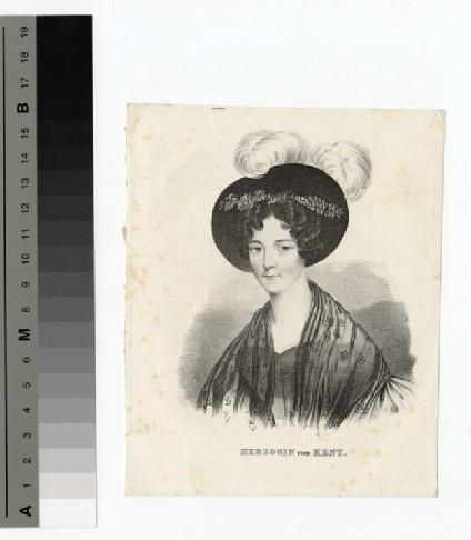 Portrait of Princess Victoria of Saxe-Coburg-Saalfeld, Duchess of Kent