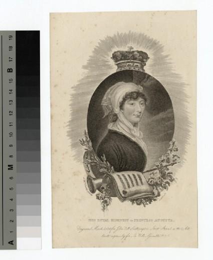 Portrait of Augusta Sophia
