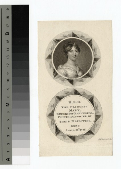 Portrait of Princess Mary, Duchess of Gloucester