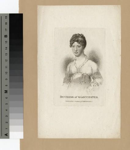 Portrait of Duchess of Gloucester