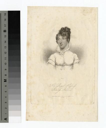 Portrait of Princess Amelia