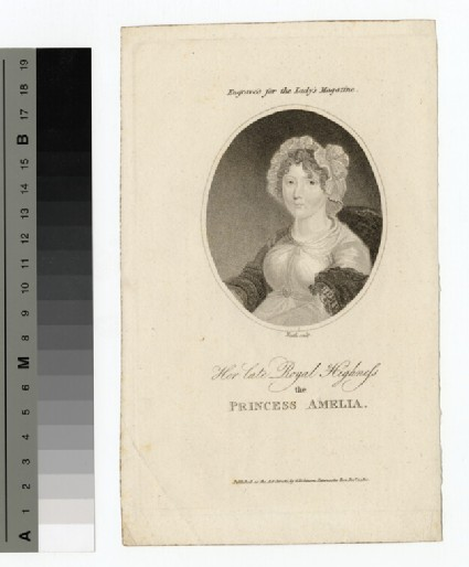 Portrait of Princess Amelia