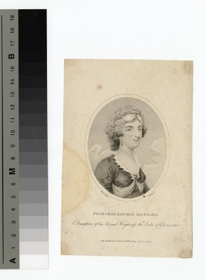 Portrait of Princess Sophia