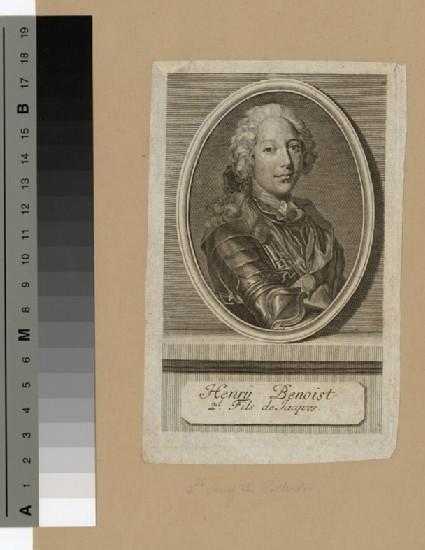 Portrait of Henry Benedict Stuart