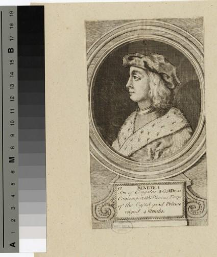 Portrait of Keneth I