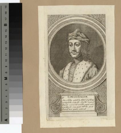 Portrait of Edward Balliol