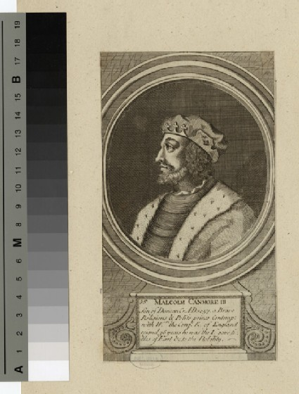 Portrait of Malcolm Canmore III