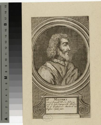 Portrait of Malcolm I
