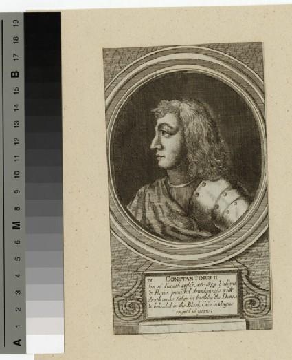 Portrait of Constantine II