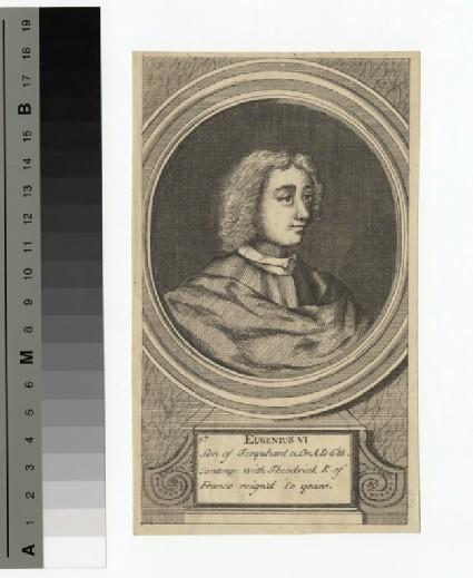 Portrait of Eugenius VI