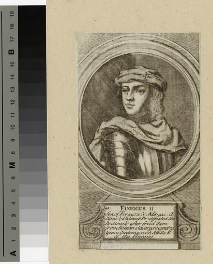 Portrait of Eugenius II