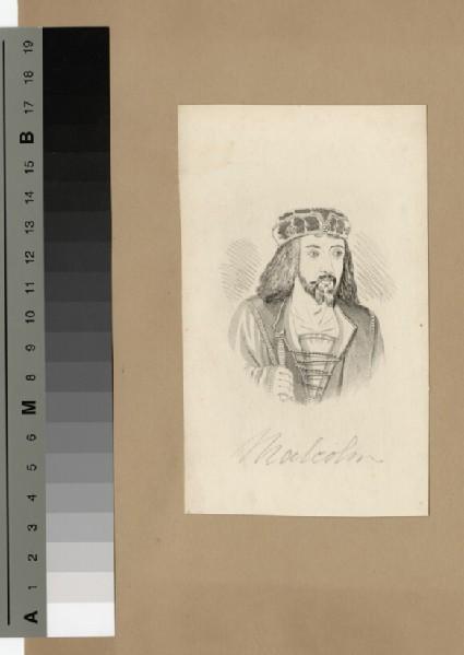 Portrait of King Malcolm