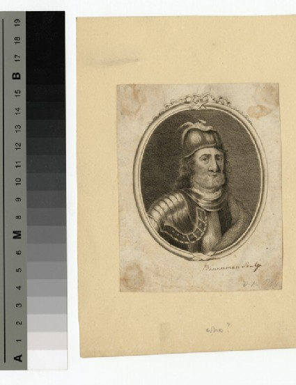 Portrait of unidentified Scottish king