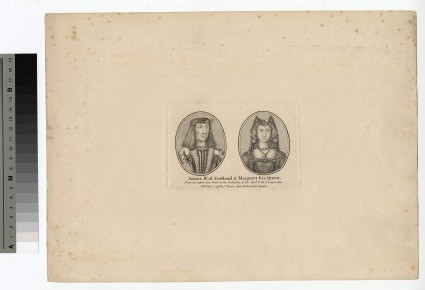 Portrait of James IV and Queen Margaret