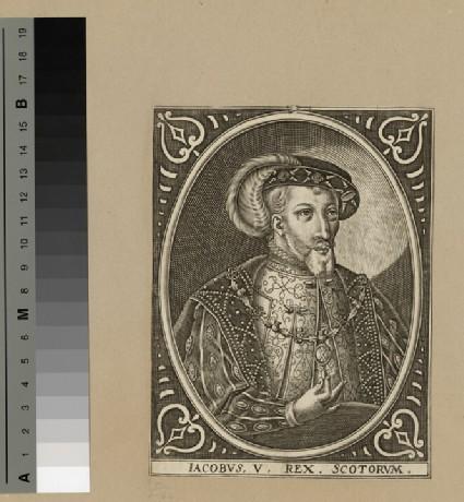 Portrait of James V